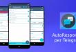 AutoResponder الذي يُوفّر معه خاصية الرد التلقائي على تيليجرام