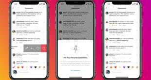 إنستاجرام تطلق ميزة التعليقات المثبتة لجميع المستخدمين