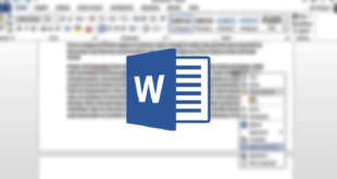 استخدام التصحيح التلقائي في مايكروسوفت وورد