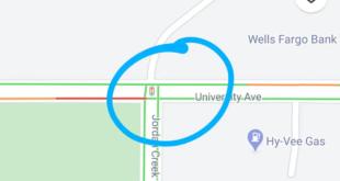 خرائط جوجل تُظهر إشارات المرور في الشوارع