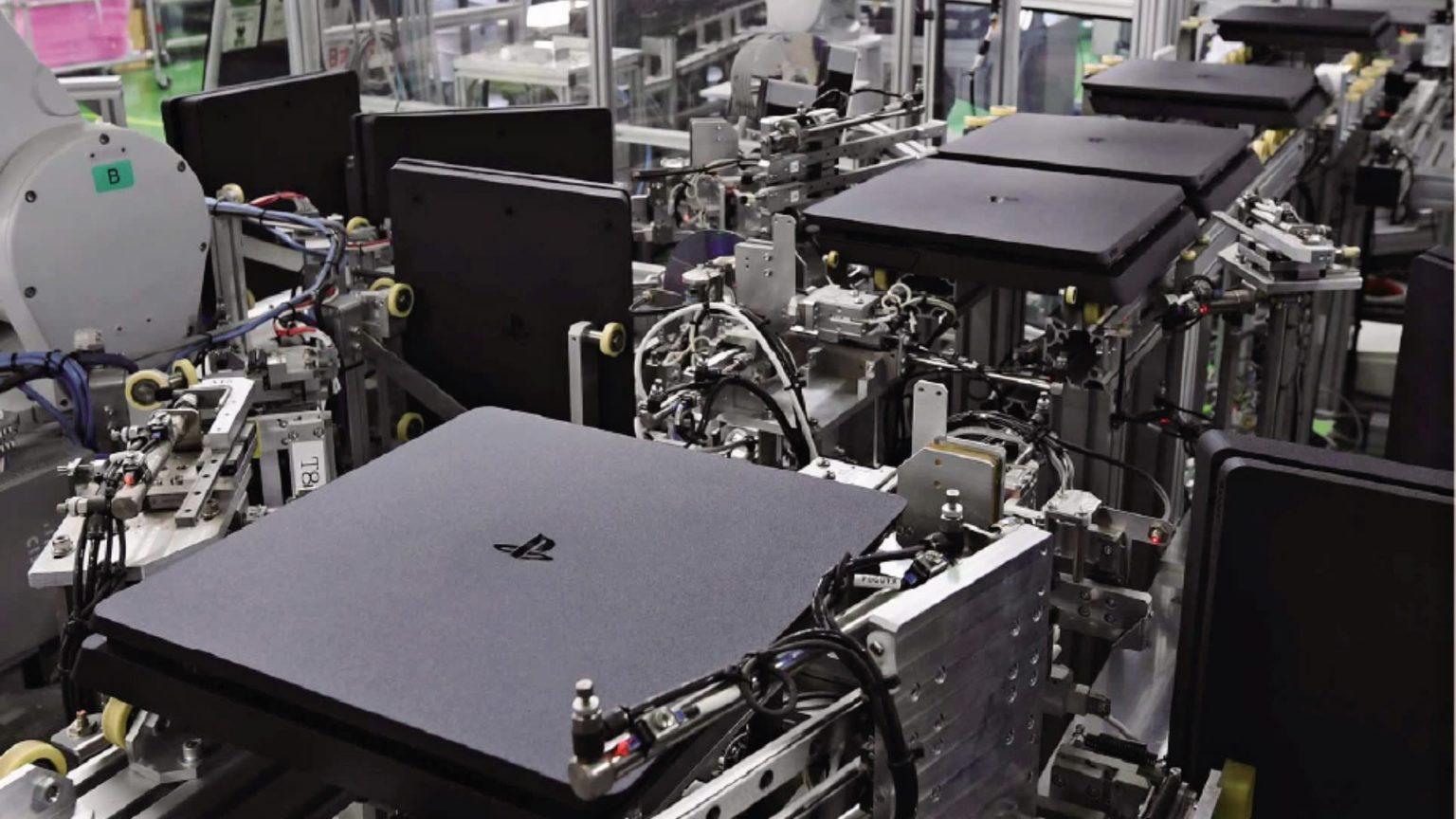 سوني تنتج منصة PlayStation 4 كل 30 ثانية