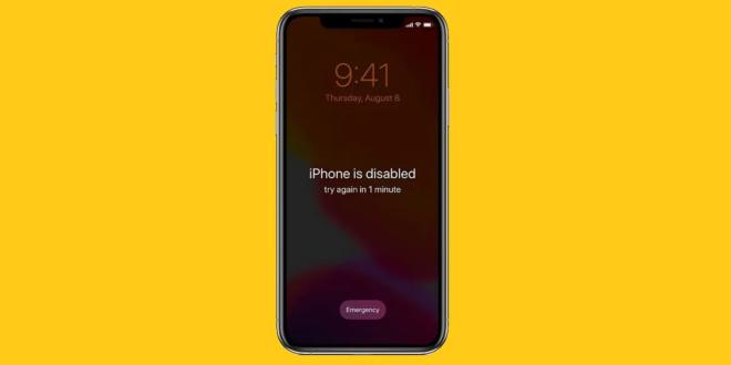 كيف يمكنك فتح هاتف آيفون إذا نسيت رمز المرور أو كان الهاتف معطلًا؟