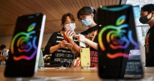مبيعات آيفون تقفز في الصين في الربع الثاني