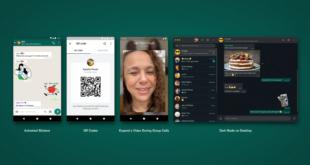 واتساب تدعم رسميًا التواصل عبر رموز QR وميزات مهمة أخرى