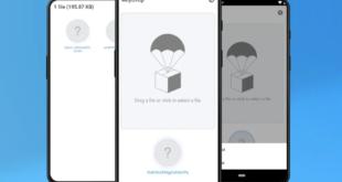 AnyDrop لمشاركة الملفات عبر الأنظمة الأساسية