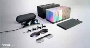 إطلاق نظارة الواقع المختلط Nreal Light