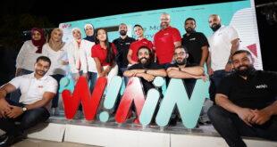 شركة A.R.E.A. تطلق تطبيقها الجديد WININ في 12 دولة عربية