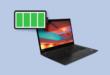 كيف تتحقق من حالة بطارية حاسوبك المحمول في نظام ويندوز 10؟