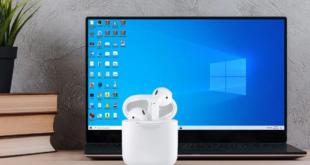 كيف يمكنك إقران سماعات AirPods بحاسوب ويندوز 10؟