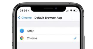 كيف يمكنك تغيير المتصفح الافتراضي في آيفون وآيباد؟