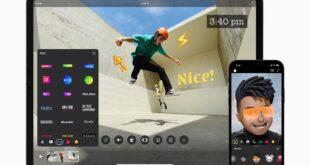 تطبيق Clips من آبل يدعم الفيديو بالوضع العمودي