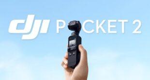 شركة DJI تُعلن رسميًا عن الحامل الكاميرا DJI Pocket 2، ويُكلف 349$