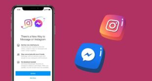 كيف يمكنك مراسلة أصدقائك في فيسبوك من تطبيق إنستاجرام؟