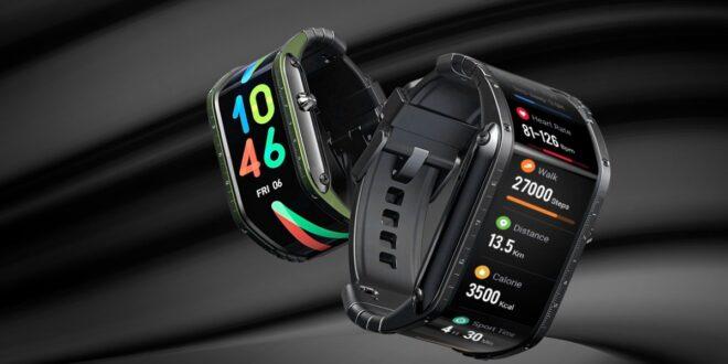 نوبيا تطلق ساعتها الذكية Watch بشاشة منحنية