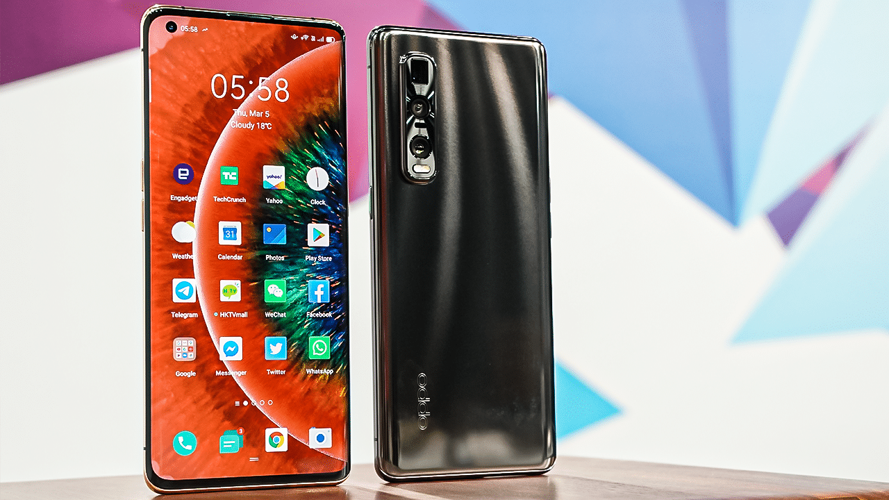 أوبو تكشف رسميًا عن هاتف بشاشة قابلة للتمدد