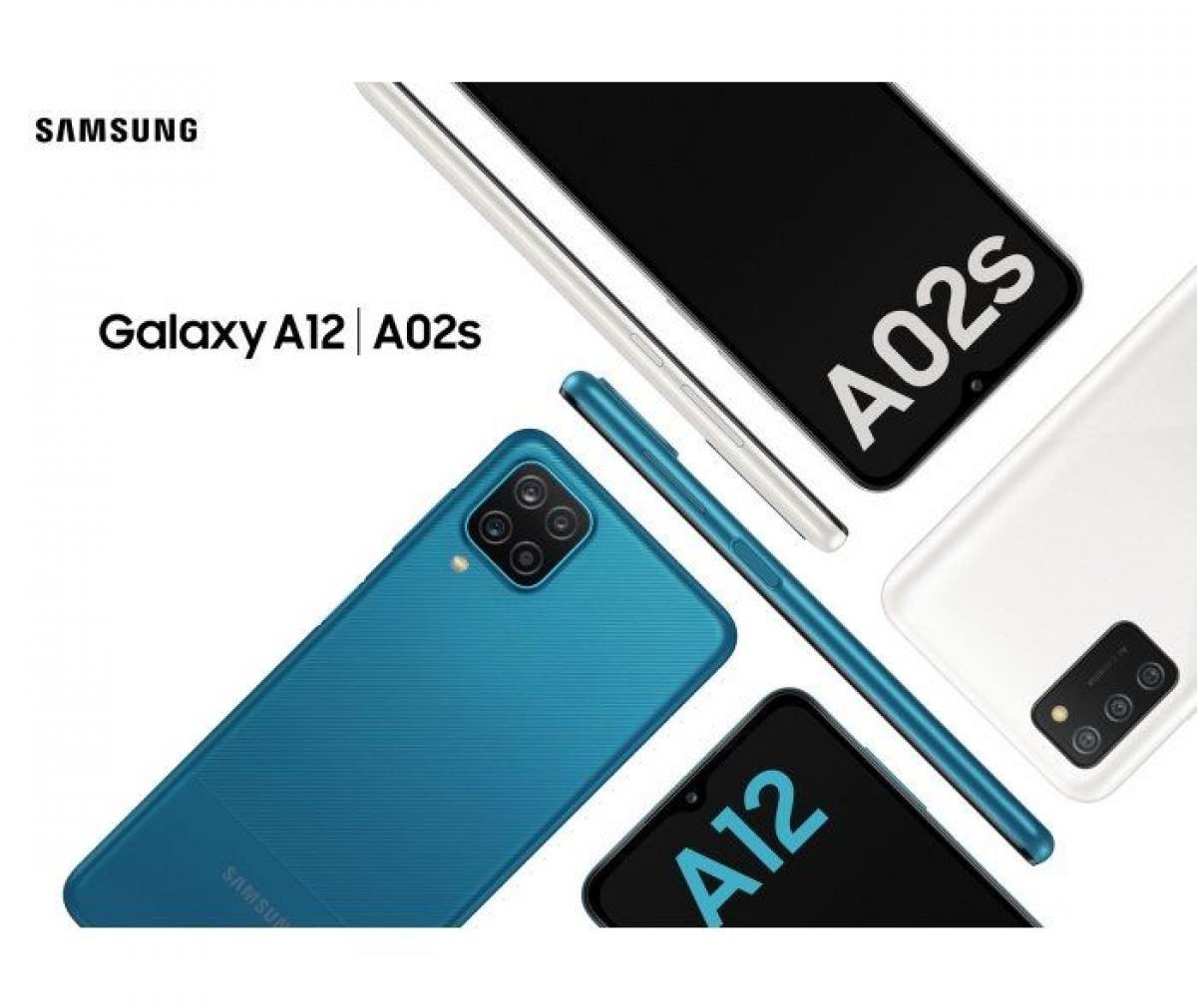 سامسونج تعلن عن Galaxy A12 و Galaxy A02s