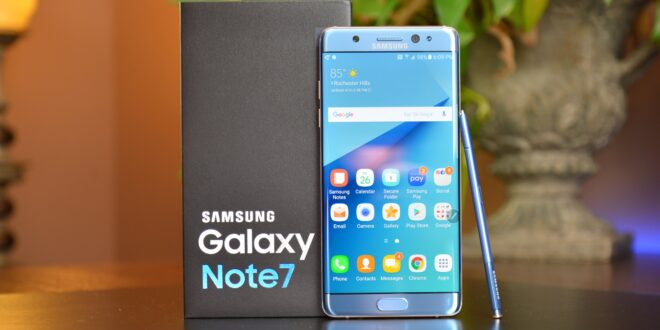 سامسونج قد توقف هواتف Galaxy Note الذكية