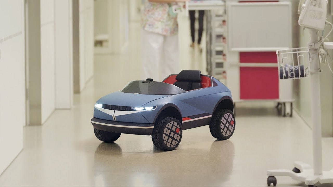 Mini 45 .. سيارة كهربائية للأطفال تعمل بالذكاء الصناعي من هيونداي