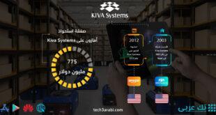تعرف على صفقة استحواذ أمازون على Kiva Systems