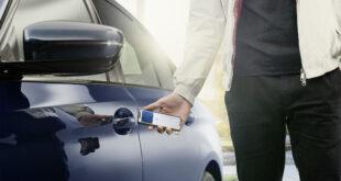 المفتاح الرقمي من BMW يتيح لأجهزة آيفون فتح iX