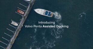 تقنية القوارب الذاتية الإرساء من فولفو أصبحت حقيقة