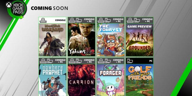 قائمة الألعاب الجديدة القادمة على Xbox Game Pass !