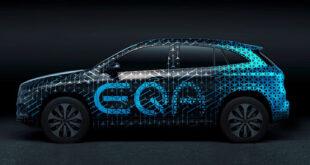 مرسيدس تكشف النقاب عن EQA الكهربائية