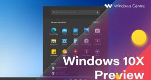 Windows 10x .. المنافس الفعلي لنظام Chrome OS