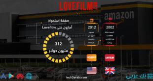 تعرف على صفقة استحواذ أمازون على Lovefilm