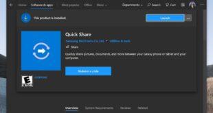 كيف يجلب تطبيق Quick Share أفضل ميزات MacOS إلى نظام ويندوز 10؟