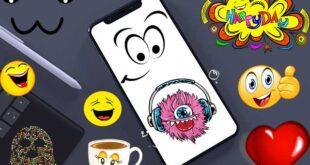 أفضل 11 برنامج لتصميم ملصقات الواتساب للايفون و الاندرويد