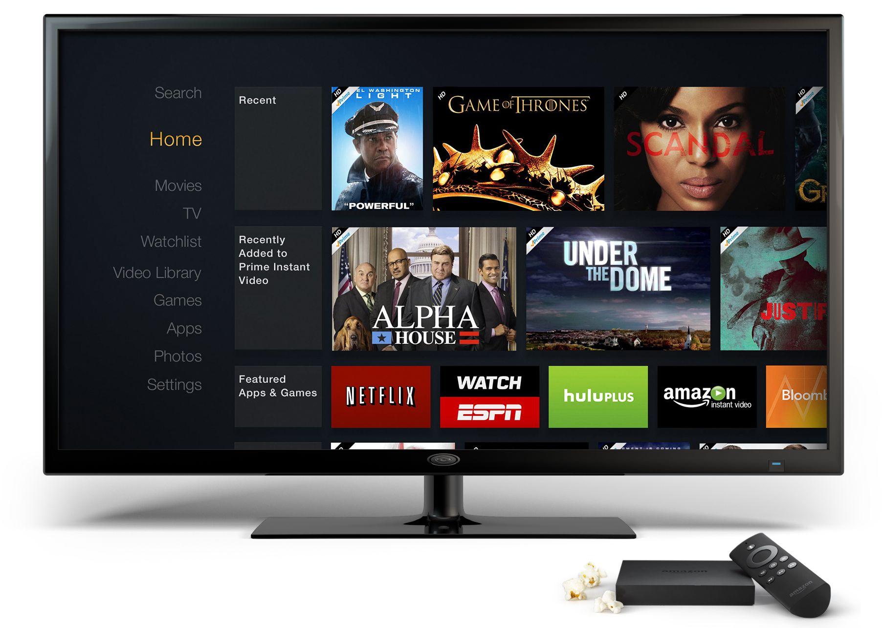 Amazon Fire TV توسع ميزات البث المتلفز المباشر