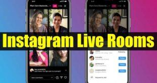 Live Rooms تتيح البث المباشر لأربعة أشخاص معًا
