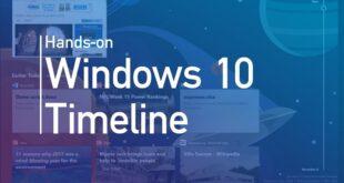 الجدول الزمني ضمن ويندوز 10 يفقد خاصية المزامنة