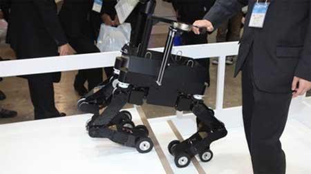 روبوت رباعي الأرجل يمكنه توجيه المكفوفين عبر الممرات الضيقة