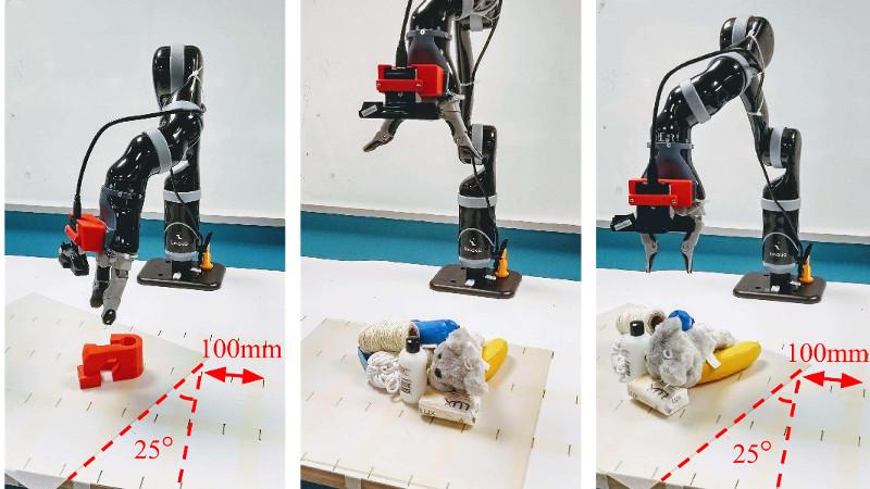 RF-Grasp .. روبوت يستشعر الأشياء المخفية