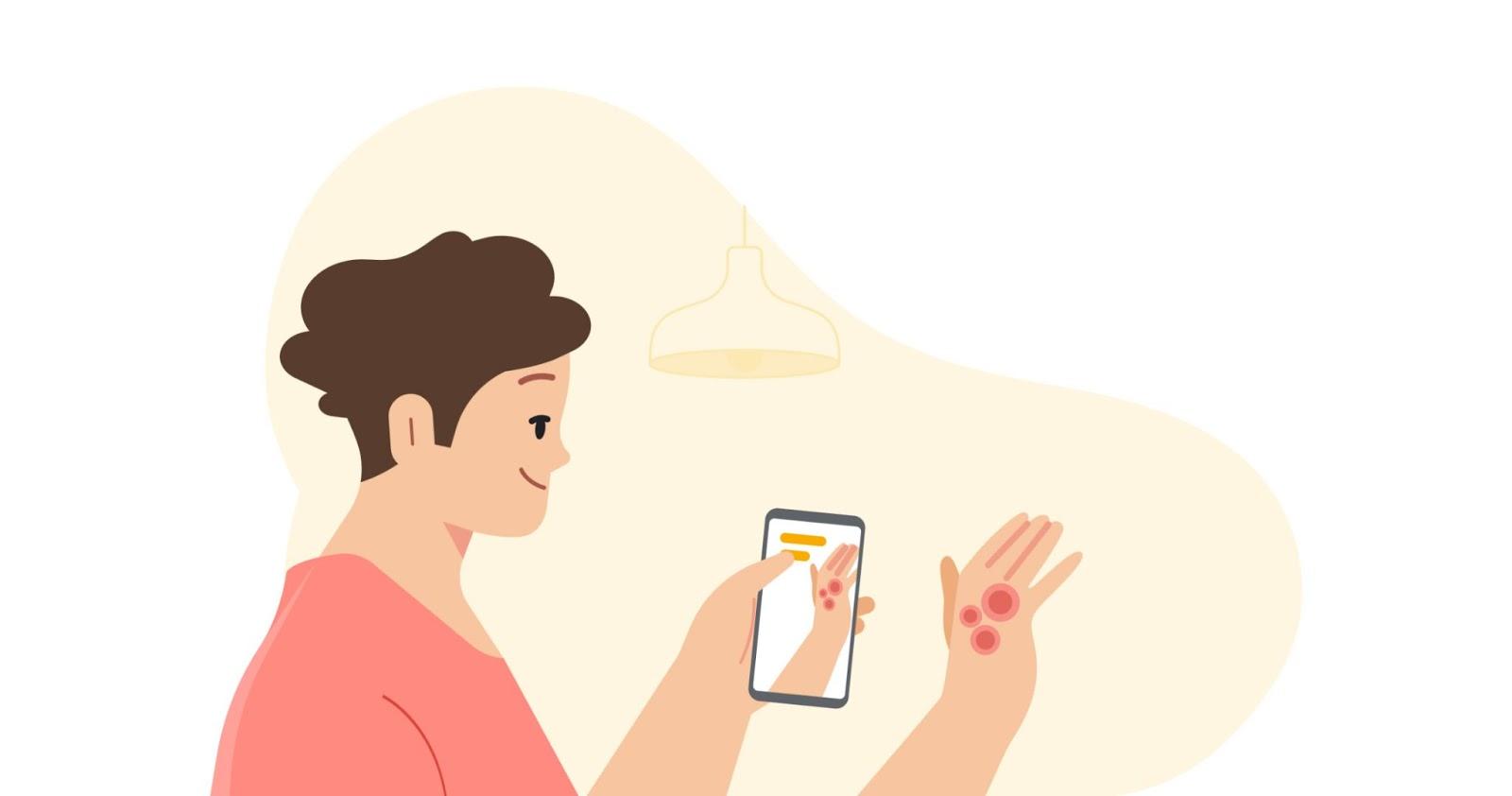 الذكاء الاصطناعي من جوجل يحدد أمراض الجلد الشائعة