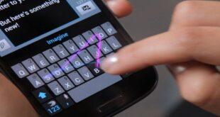 الذكاء الاصطناعي يسهل الكتابة عبر الهاتف الذكي