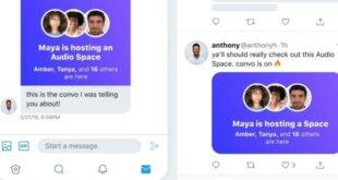 تويتر تتيح الوصول إلى الغرف الصوتية عبر الويب
