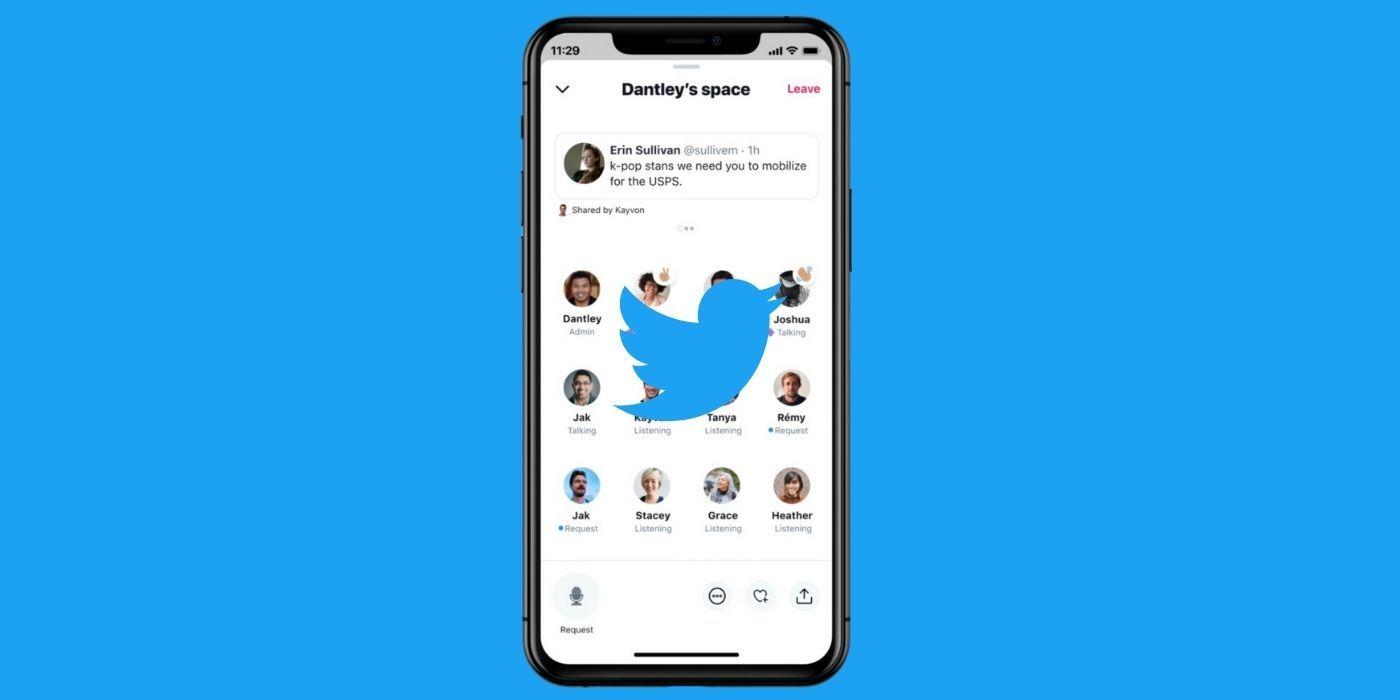 تويتر تتيح Spaces لمزيد من الأشخاص