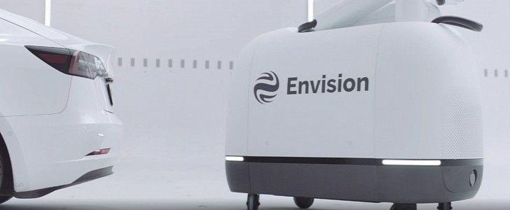 Mochi .. روبوت مستقل لشحن السيارات الكهربائية