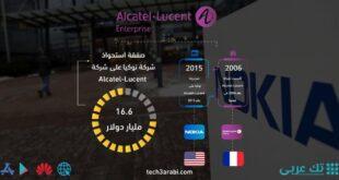 تعرف على صفقة استحواذ نوكيا على Alcatel-Lucent