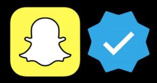 توثيق حساب سناب شات والحصول على الشارة