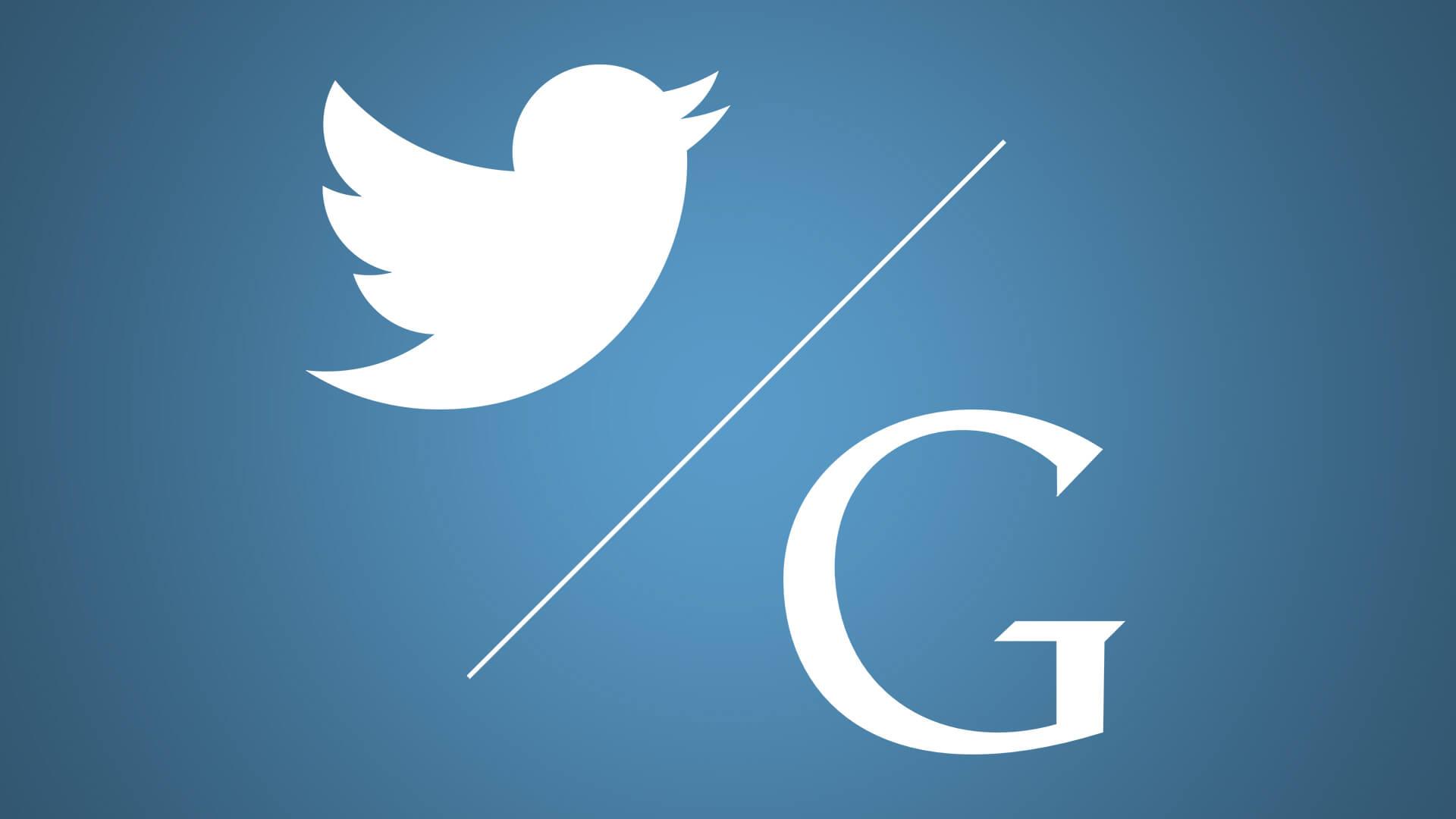 تويتر يتيح قريبا للمستخدمين ربط حساباتهم على تويتر بجوجل