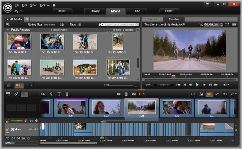 افضل برامج تعديل الفيديوهات