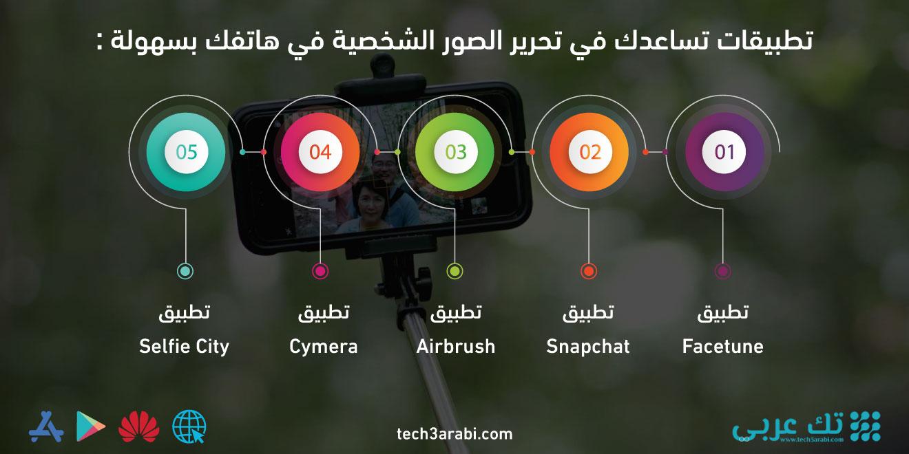 تطبيقات تساعدك في تحرير الصور الشخصية في هاتفك بسهولة