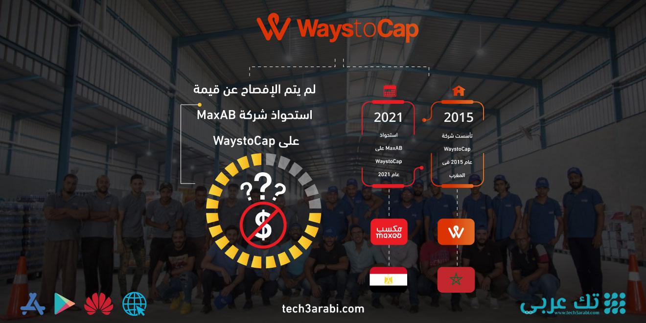 تعرف على صفقة استحواذ شركة MaxAB على شركة WaystoCap
