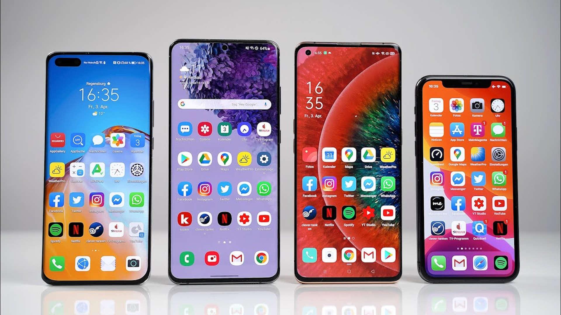 الكثير من المفاجئات: من أكثر الشركات بيعاً للهواتف الذكية في عام 2021؟