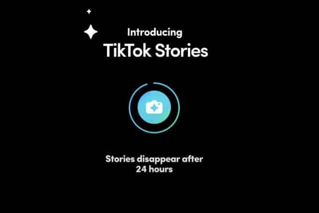 تيك توك تختبر ميزة قصص على غرار سناب شات