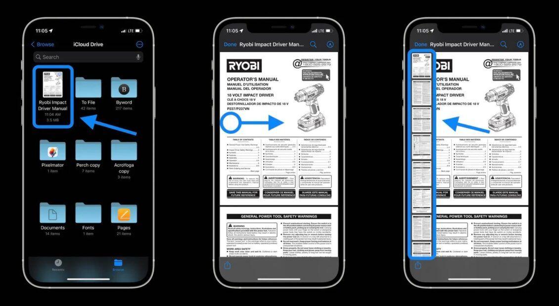 كيفية تعديل ملفات PDF عبر iOS 15